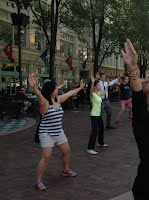 Free Tai Chi at Playhouse Square, Cleveland, OH 2015